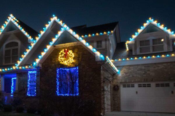 outdoor kenosha christmas lights, outdoor christmas lighting kenonsha, kenosha christmas lighting installation