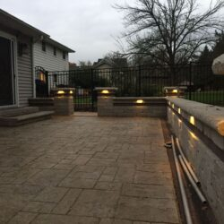 unique outdoor lighting arrangements, landscape lighting for patios, landscape lighting installation