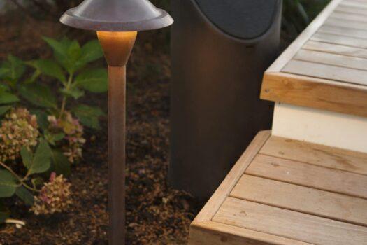 garden speaker systems, backyard speaker systems, backyard speaker system installation