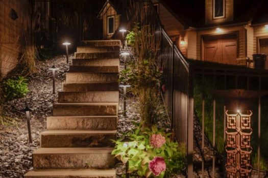 outdoor sound systems in chicago il, mikes landscape lighting chicago il, outdoor audio system chicago