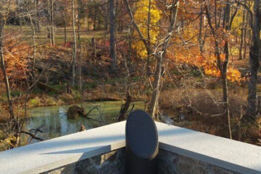 outdoor speakers evanston, outdoor audio installation company evanston, landscape lighting evanston