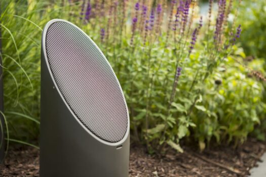 Outdoor Sound Systems in Barrington, garden speakers in barrington, mike's landscape lighting