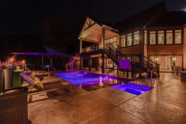pool lighting in long grove il, long grove il pool lighting, best pool lighting in long grove il