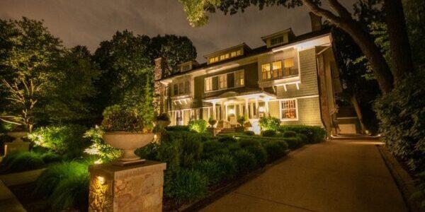 outdoor lighting in chicago, chicago outdoor lighting, chicago outdoor lighting installations