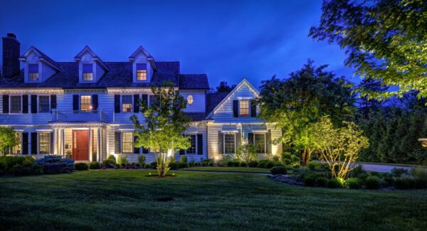 outdoor accent lighting, mike's landscape lighting